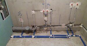 Разводка труб водоснабжения в Вологде