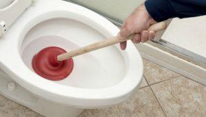 как прочистить засор в унитазе в Вологде