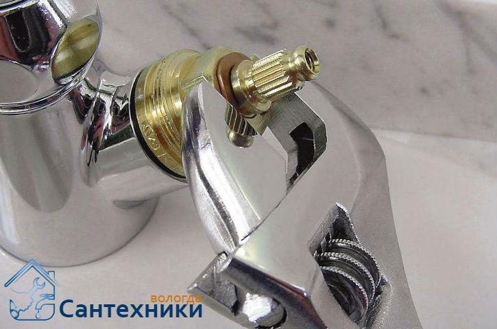 Заменить кран буксу в Вологде